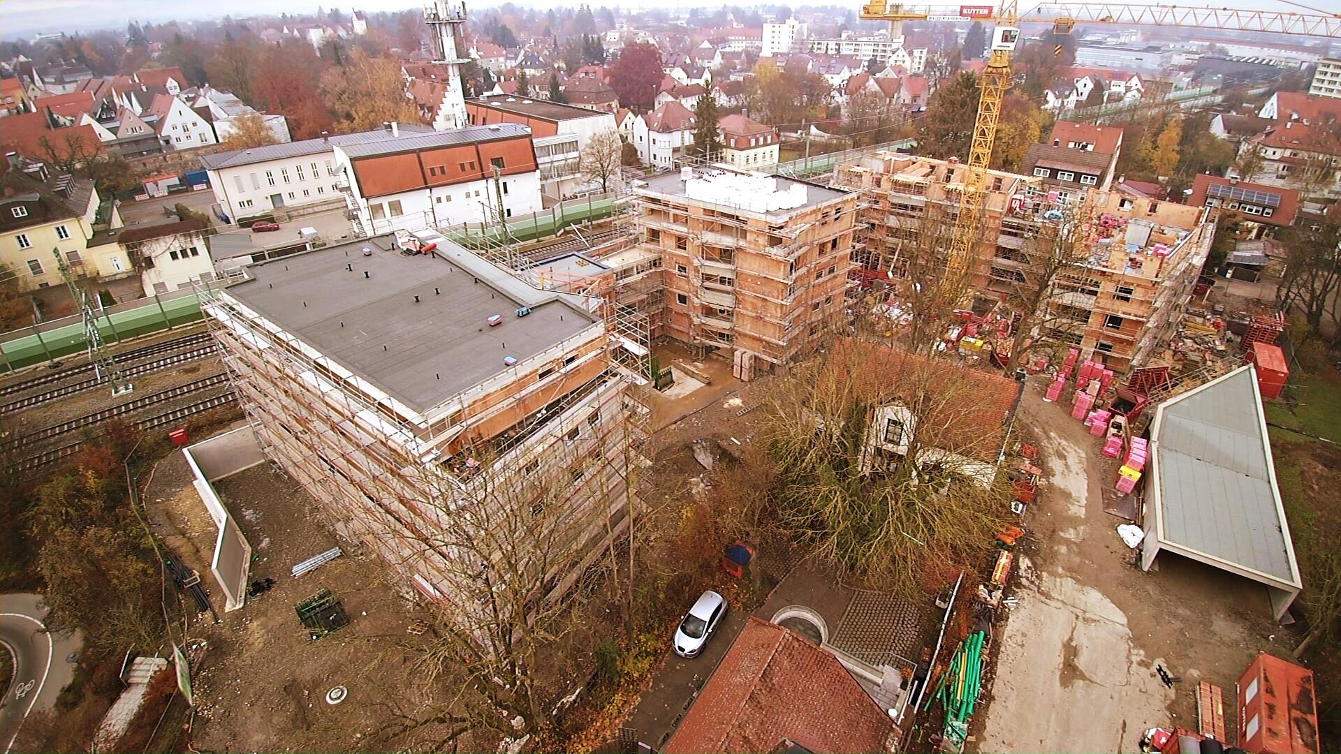 Wohnanlage Memmingen, Augsburgerstraße (2019)